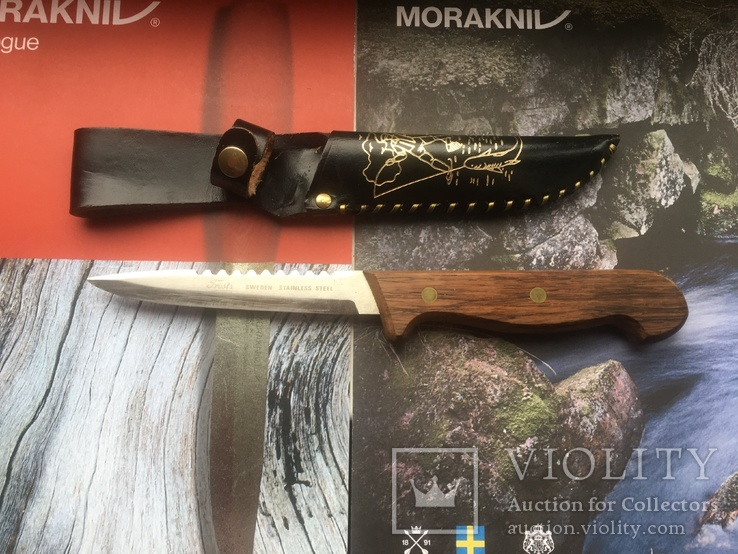 Нож рыбацкий Mora Frost 70-е года
