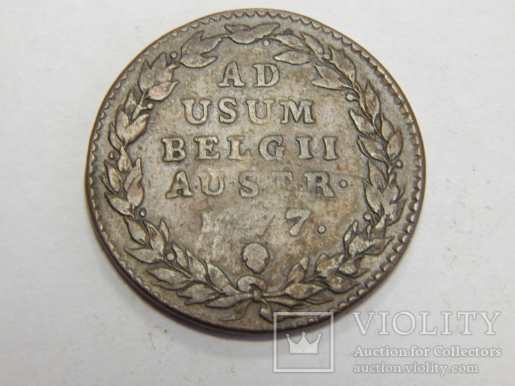 2 лиарда, 1777 г Австрийские Нидерланды