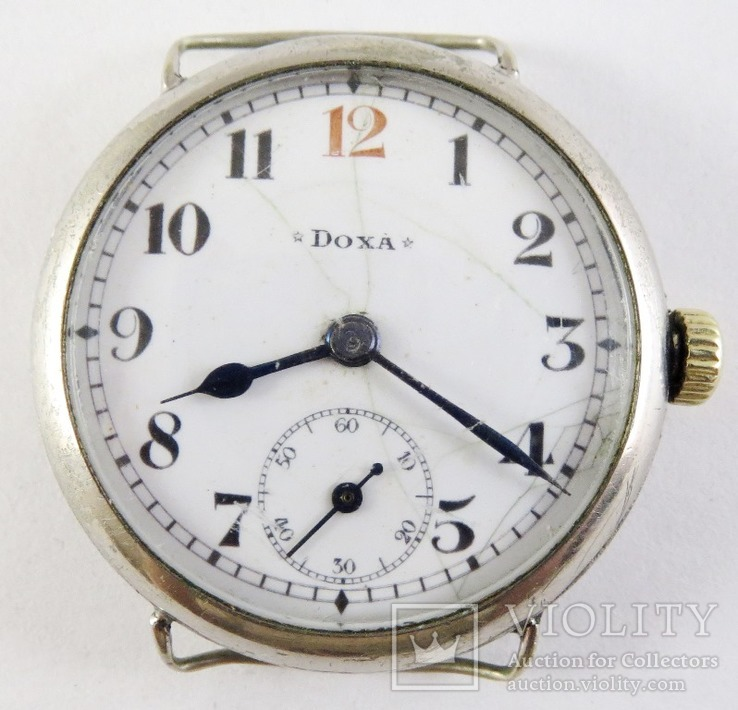 Старинные часы Doxa. На ходу