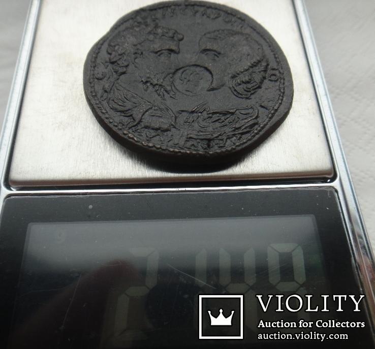 Провинциальный медальон С.Север и Ю.Домна