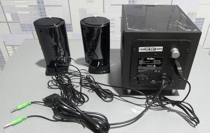 SVEN MS-304 DUO, Компьютерная акустика 2.1, фото №3