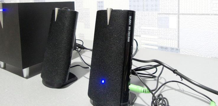 SVEN MS-304 DUO, Компьютерная акустика 2.1, фото №4