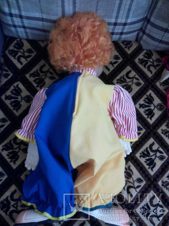 Клоун Alina toys 70см, фото №3