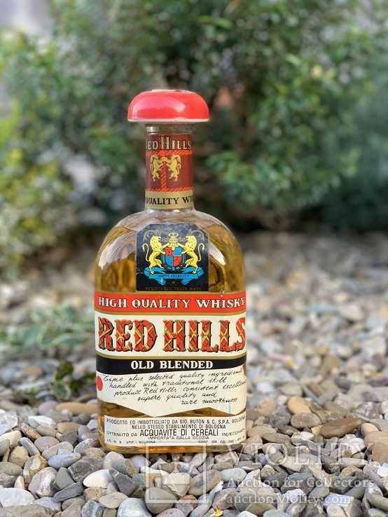 Whisky Red Hills 1960/70s
