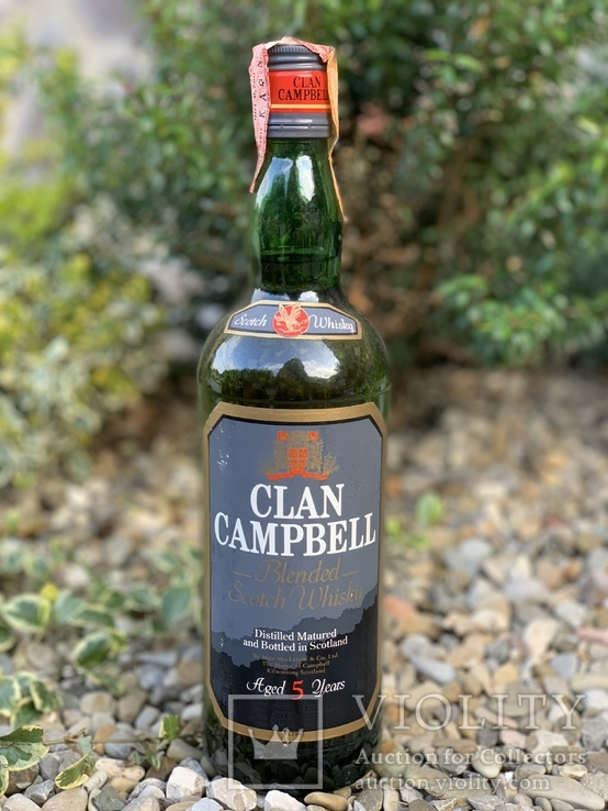 Whisky Clan Campbell 5 1980s