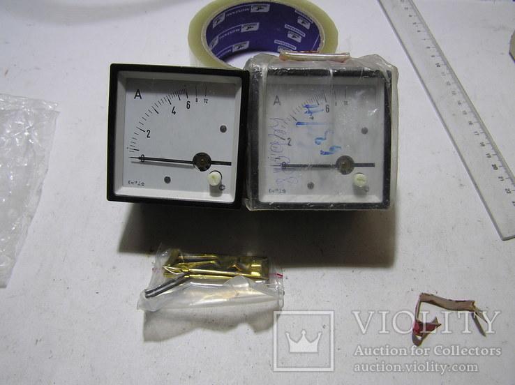 Амперметр 0-12 Ампер. 2 штуки.