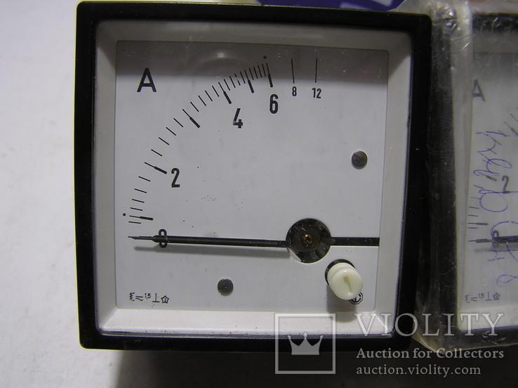 Амперметр 0-12 Ампер. 2 штуки., фото №3