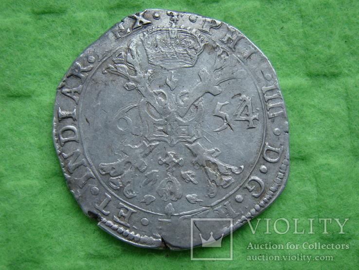 Патагон 1654 р . Філіп IV. Фландрія .