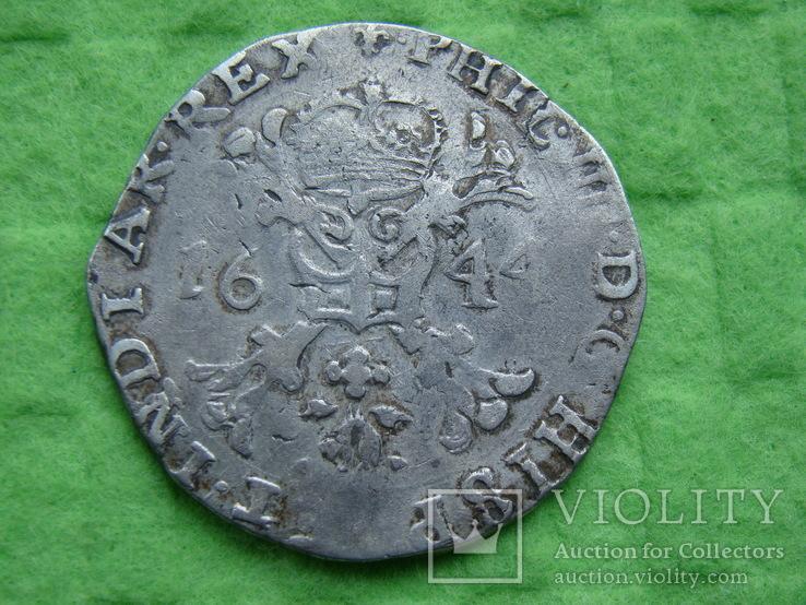 Патагон 1644 р. Філіп IV . Фландрія .