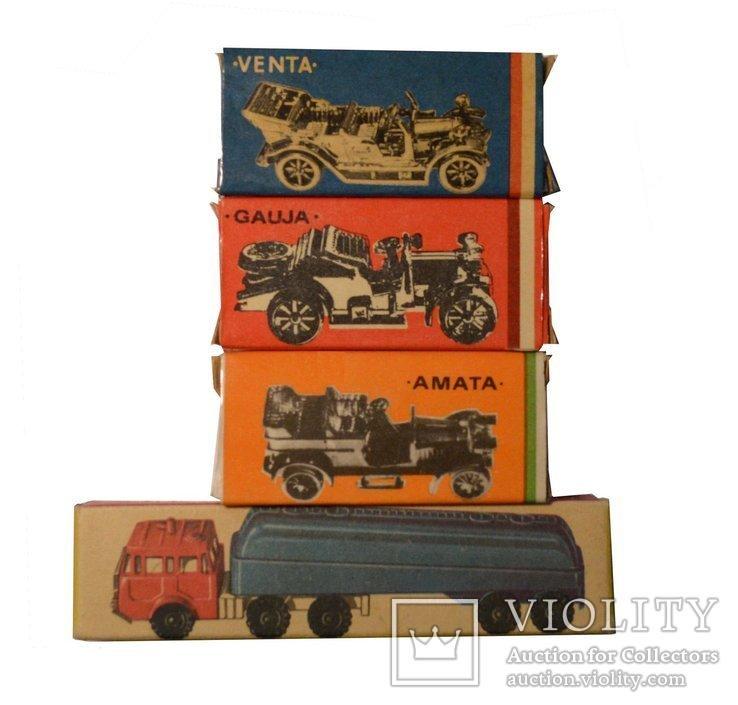 Модельки Venta, Gauja, Amata, Tatra Tankwagen 1974-76