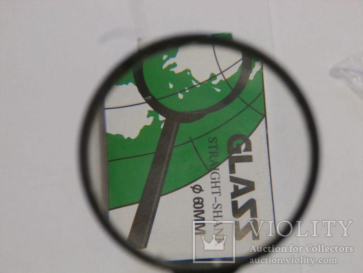 Лупа ручная Glass Straight Shank , диаметр 60 мм (