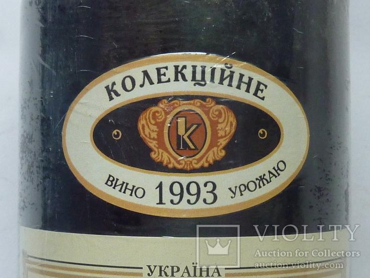 Вино коллекционное. Талисман Коктебель. Урожая 1993 г., фото №4