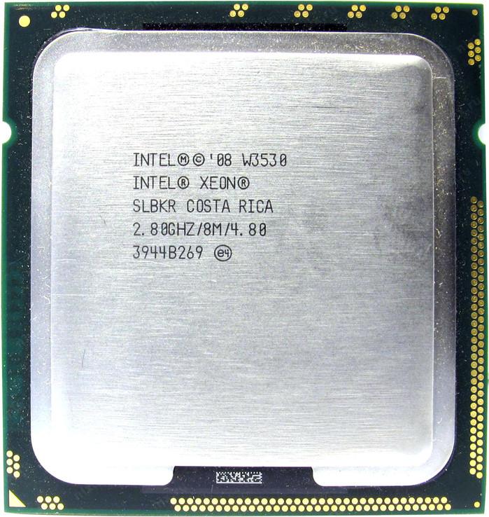 Процессор Intel XEON W3530(LGA1366) 4-ядра 8-потоков по 2.80-3.06 GHz + термопаста 0,5г, фото №3
