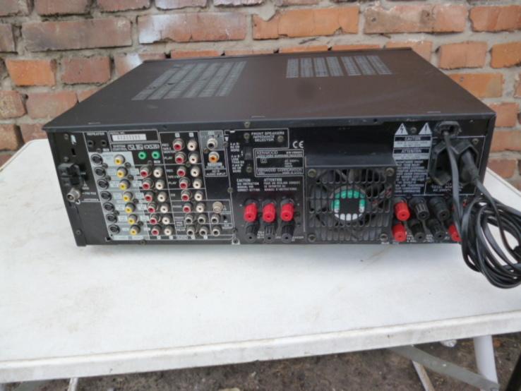 Підсилювач - Ресівер KENWOOD KR-V990D з Німеччини, фото №10