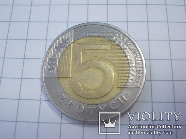 5 злотых 1994г., фото №2