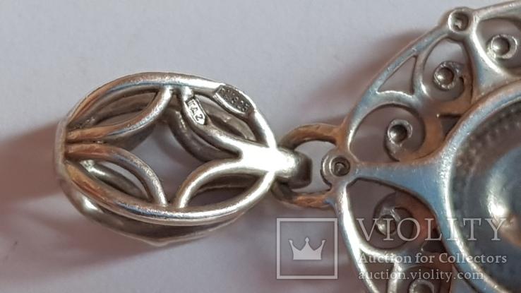 Иконка нательная. Серебро 925 проба. Вес 3.70 г., фото №7