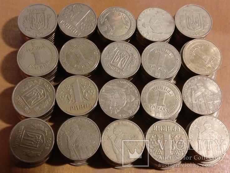 1 гривна Украина, 200 шт.