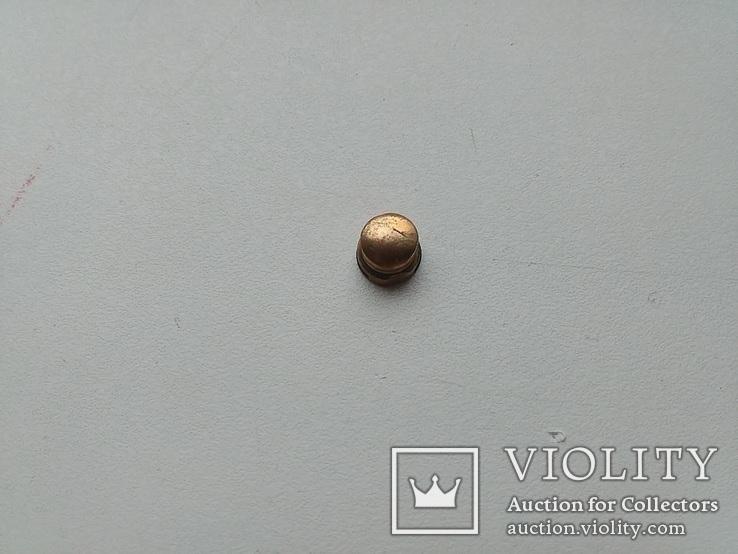 Ремень офицерский парадный и кнопка от кортика, фото №3