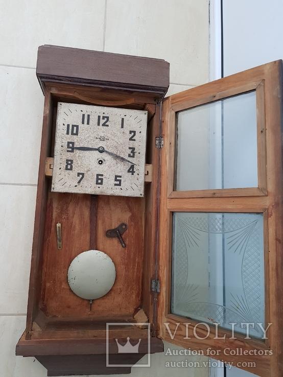 Настенные часы 2-й гос завод Москва СССР