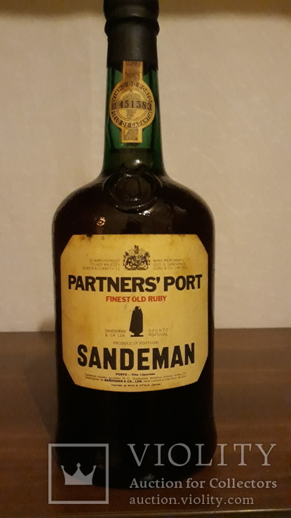 Port Partners Sanderman 20 gr 0.750lt 1970+-p
