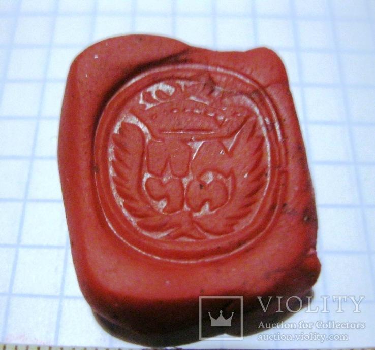 Перстень-печать щитковосрединный, фото №8