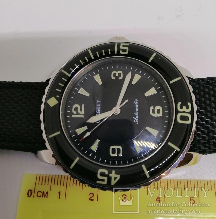 Новые механические наручные часы с автоподзаводом Corgeut., фото №6