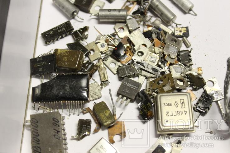 КР,РП14,Т805,КР155 та інше,361 грам., фото №4
