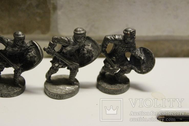 5 Вікінгів з одного набору, номерні 403-0--, вага всіх 70 грам, фото №3