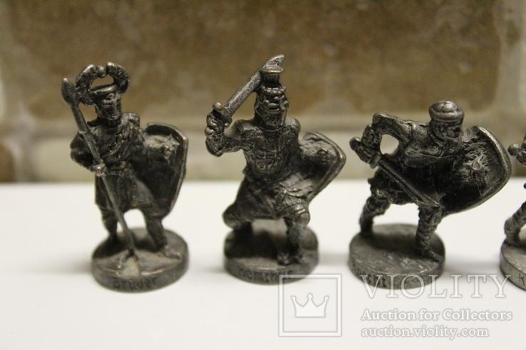 5 Вікінгів з одного набору, номерні 403-0--, вага всіх 70 грам, фото №4