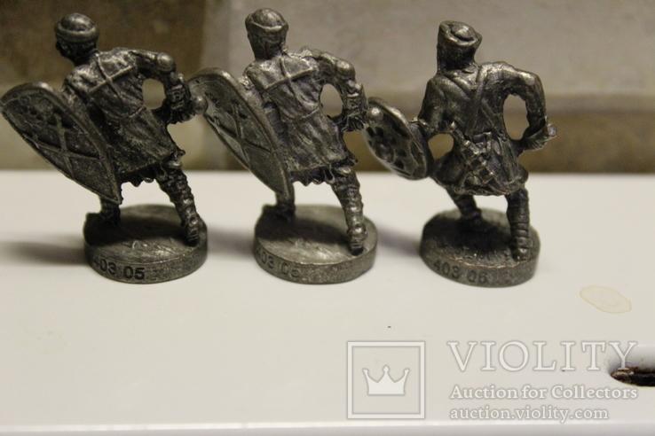 5 Вікінгів з одного набору, номерні 403-0--, вага всіх 70 грам, фото №8