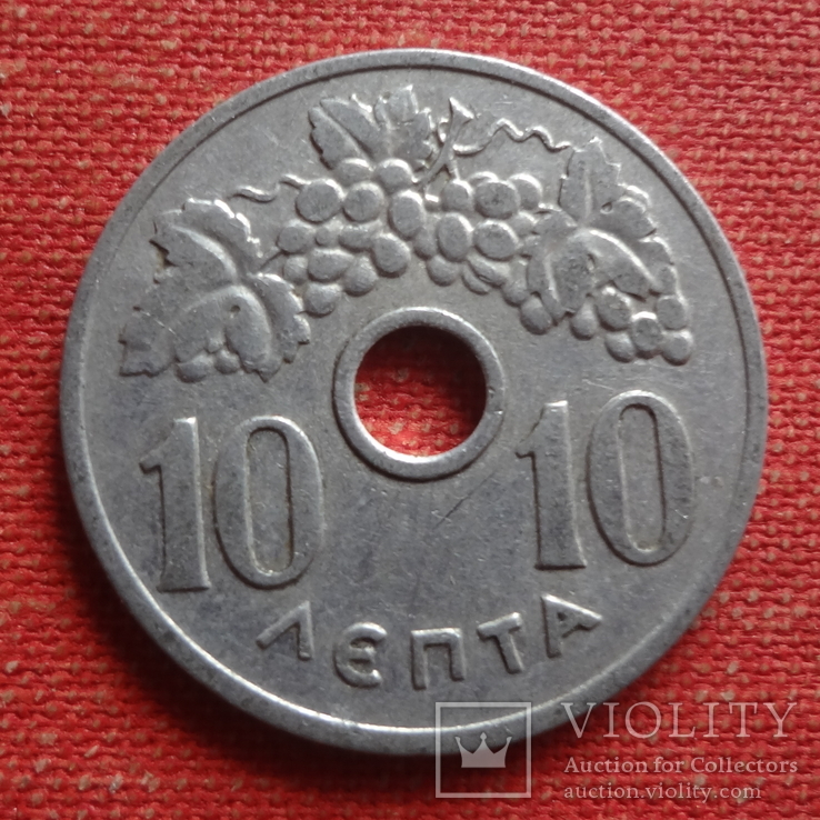 10 лепта 1954 Греция       (Т.10.12)~