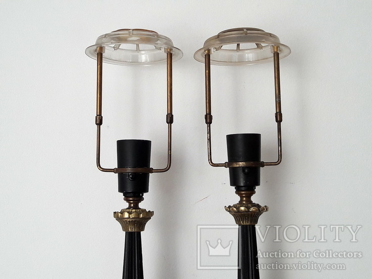 Пара настольных ламп - лот 2, фото №3