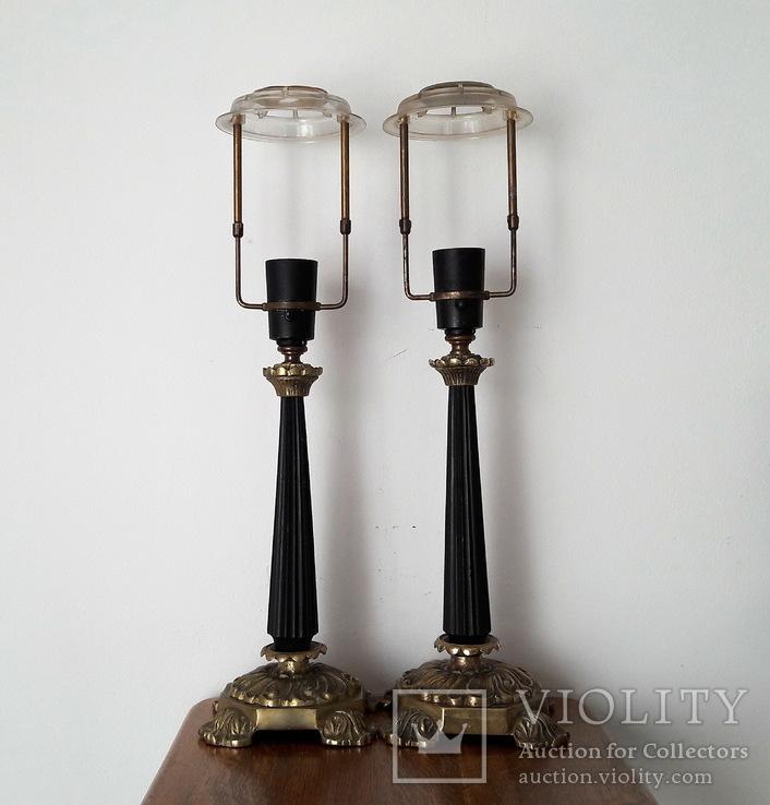 Пара настольных ламп - лот 2, фото №2