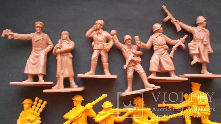 Солдатики - советская армия и шотландцы, фото №3