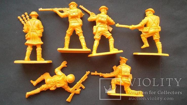 Солдатики - советская армия и шотландцы, фото №4
