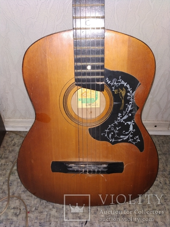 Акустическая гитара 6 струнная, фото №3