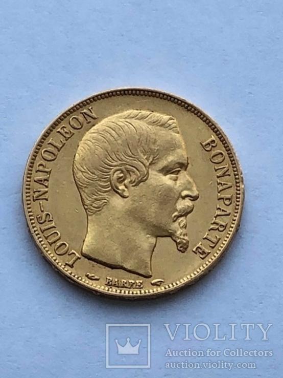 20 франков 1852 год