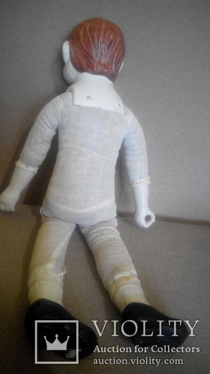 Фарфоровая кукла Повар 50см реплика Германия Франция, фото №7