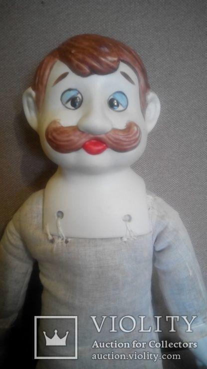 Фарфоровая кукла Повар 50см реплика Германия Франция, фото №9
