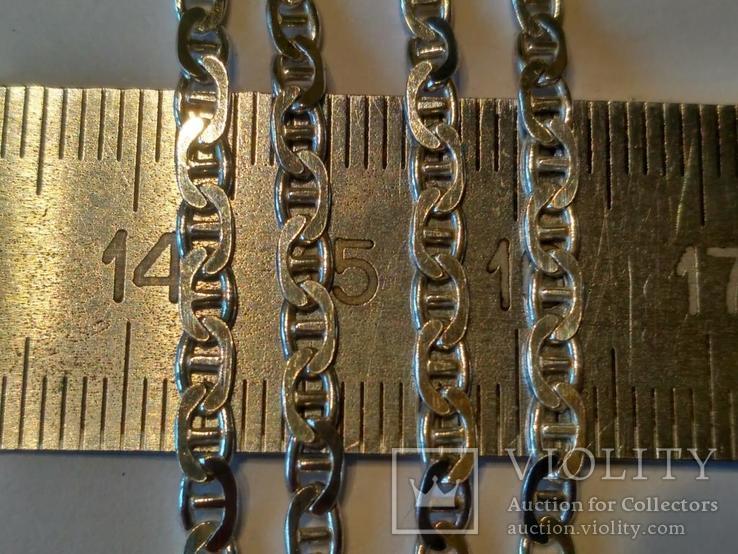 Цепочка 10 серебро, фото №3
