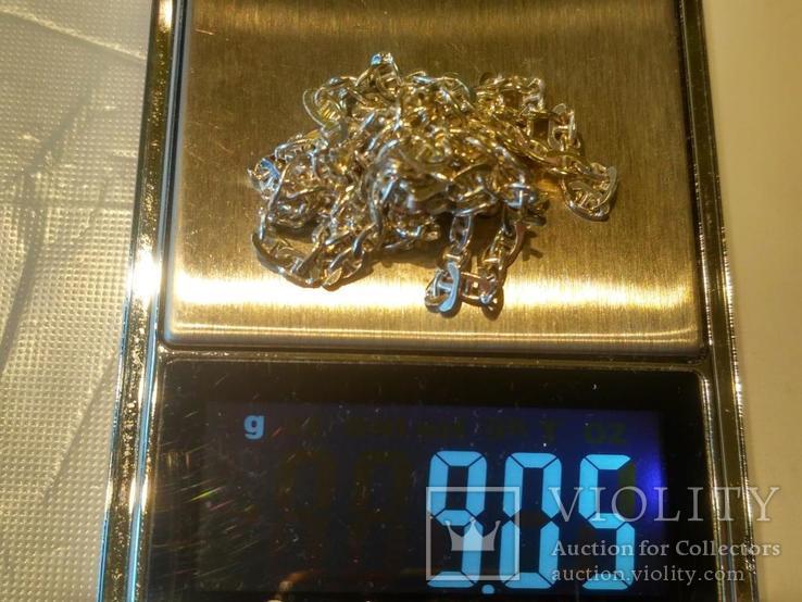 Цепочка 10 серебро, фото №6