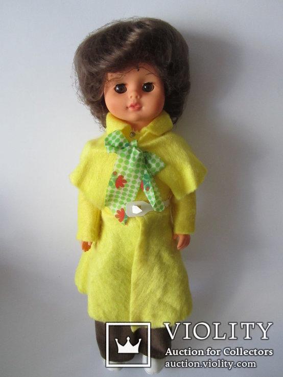 Кукла в брючном костюме 50см ГДР, фото №2