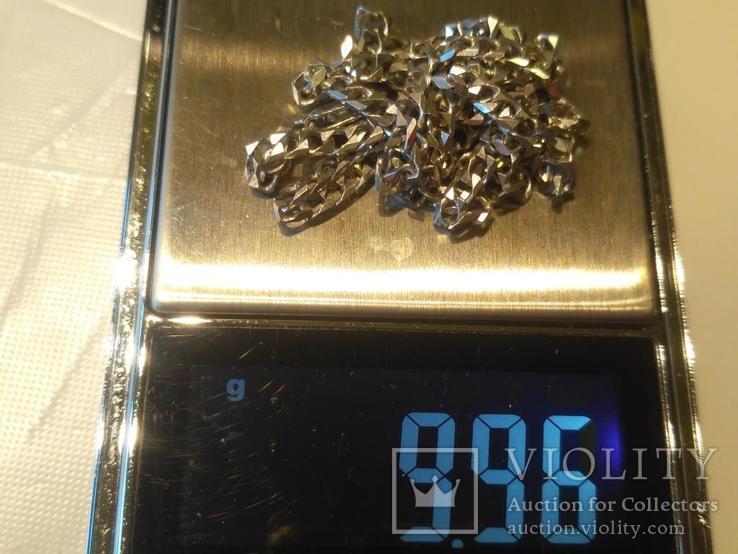 Цепочка 12 серебро, фото №6