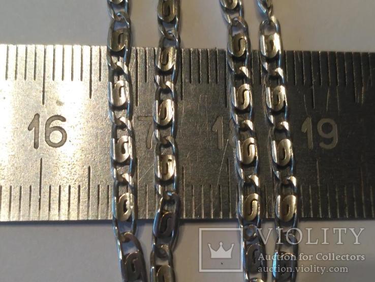 Цепочка 13 серебро, фото №3
