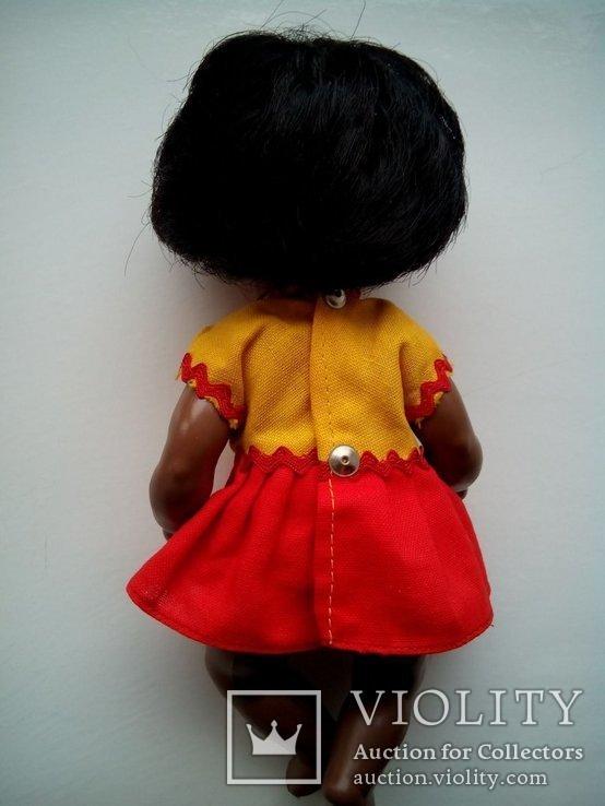Кукла негритянка черепашка Schildkrot 18см ГДР, фото №4