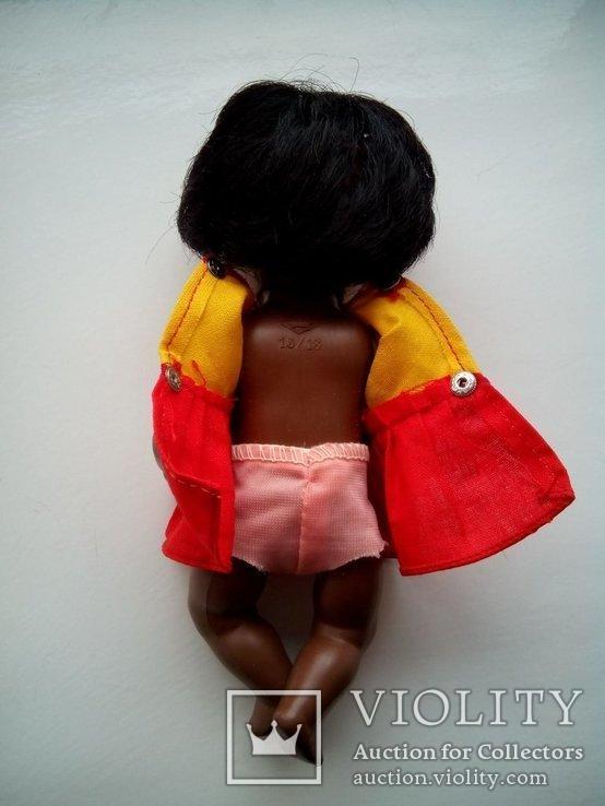 Кукла негритянка черепашка Schildkrot 18см ГДР, фото №5