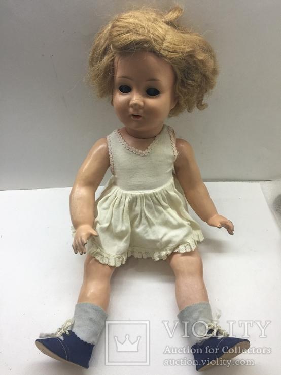 Кукла папье-маше или пресс опилки 44 см, фото №3