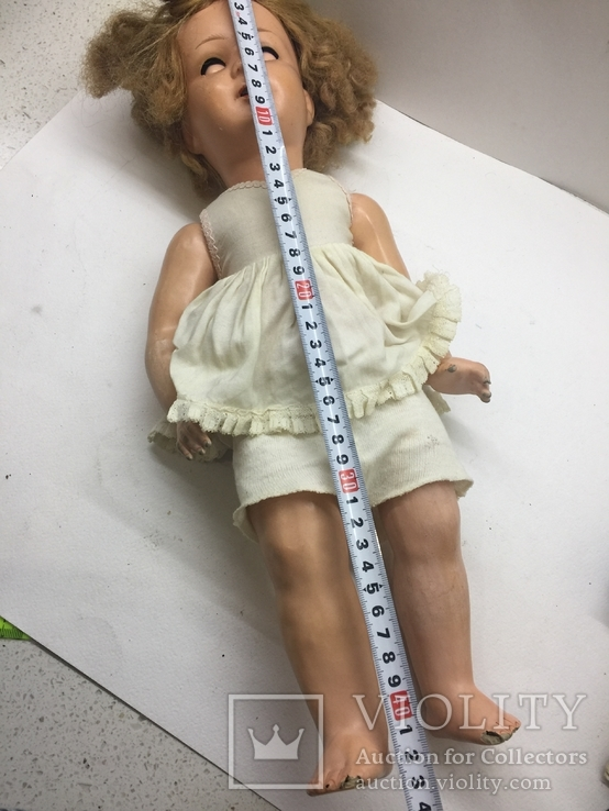 Кукла папье-маше или пресс опилки 44 см, фото №13