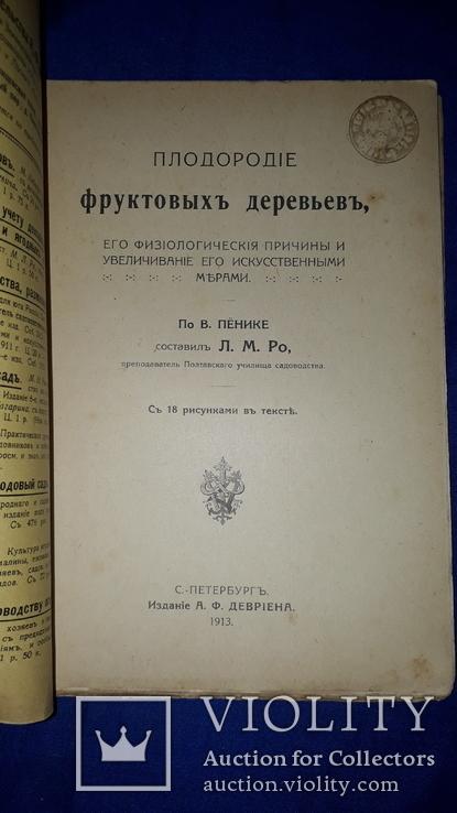 1913 Плодородие фруктовых деревьев