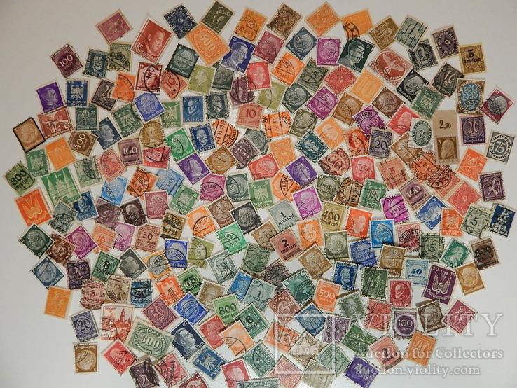 3-й рейх . Почтовые марки 212 шт.